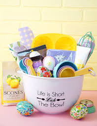 baking gift basket easter baking gift basket happiness is