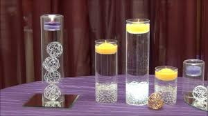 Led Lights In Vases Centerpiece Idea Tea Light Cylinders From Surroundings Com