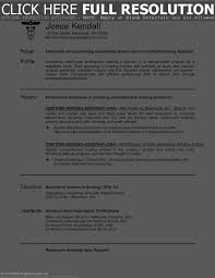 Sample Resume For Pediatric Nurse by Sample Nursing Assistant Resume Resume For Your Job Application