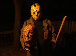 Jason Halloween Costume A Picture And A Youtube Clip Of Me In My Jason Voorhees Mask And
