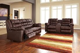 Ashley Furniture Living Room Sets Buy Ashley Furniture Brolayne Durablend Saddle Reclining Living