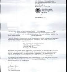italiangenealogy com got uscis response how do i write letter
