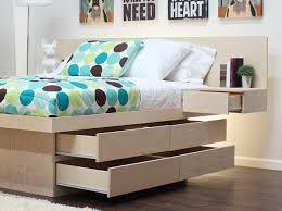 Bed Platform With Storage Bedroom Bedroom Storage Solutions Bed Platform With Storage And