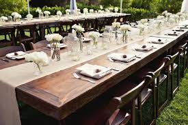table runner rentals rent farm tables il now availble werenttables