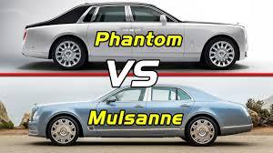 bentley mulsanne coupe bentley mulsanne vs 2018 rolls royce phantom viii youtube