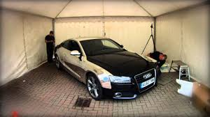 cool wrapped cars chrome wrap on an audi a5 the car wrap club youtube