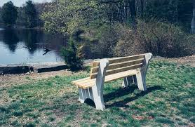 Park Benches Shawnee Park Benches By American Concrete Industries Of Auburn