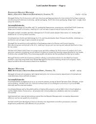 profile sample resume eliolera com