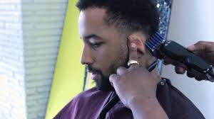 how to get a taper fade haircut for men biancareneetoday youtube