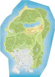 Gta World Map Grand Theft Auto V Signs Barns Radars Map Www Kudosprime Com