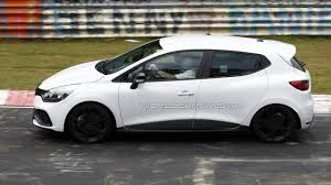 renault clio 2013 renault clio rs spied without the camouflage motor1 com photos