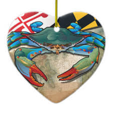 maryland blue crabs ornaments keepsake ornaments zazzle