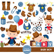 baby shower clipart cowboy baby shower clipart wild west clipart