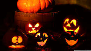 halloween pumpkins wallpaper wallpapersafari