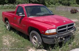 Dodge Dakota Trucks - 1998 dodge dakota flatbed pickup truck item dk9675 sold