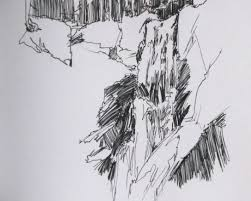 waterfall swimming and sketching u2013 recent artwork by jessie dodington