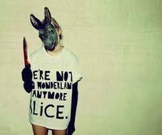 Scary Alice Wonderland Halloween Costume Creepy Alice Wonderland Fallon Davis Photography