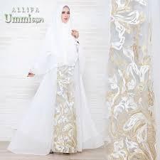 wedding dress syari allifa by ummi syari galerigibran