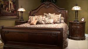 Michael Amini Furniture Bella Veneto Sleigh Bedroom Set By Michael Amini Furniture Youtube