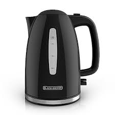 White Kettles And Toasters Black And Decker 1 7 Liter Rapid Boil Electric Kettle Bed Bath