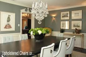 do you prefer upholstered or solid wood dining chairs apartment