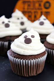 halloween ghost cupcakes recipe