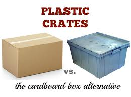 plastic crates the cardboard box alternative