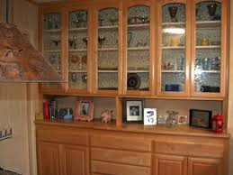 kitchen wood cabinet with glass doors modern glass cabinet doors