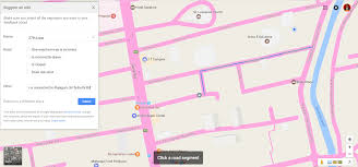 Draw A Route On Google Maps by Local Guides Connect Exclusive Edit A Road Segment In Google