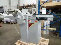 folders used finishing machines morgana digifold creasing