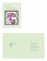 mother u0027s day card with mother and baby quarter fold office