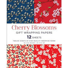 high wrapping paper cherry blossoms gift wrapping papers 12 sheets of high quality 18