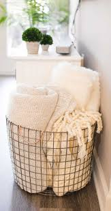 atlanta apartment tour affordable home decor blanket basket