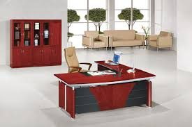 L Shape Office Desk by Small Office Table Design Unique Shape Cream Color Chairs Wooden
