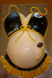 pittsburgh steelers belly cake shell u0027s sweets and treats