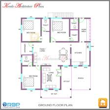 Single Floor House Plans Kerala by Architectural House Plans Kerala Single Floor Design Ideas Zonaj
