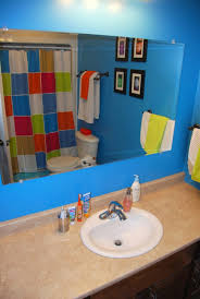 Ideas For Kids Bathrooms by Yellow And Grey You Are My Sunshine Chevron Kids Bathroom Valspar