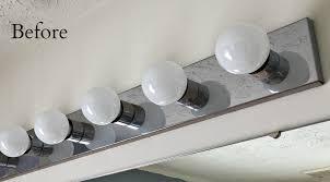 How To Change A Bathroom Light Fixture Stylish Changing Light Fixture In Bathroom Bathroom Design Ideas
