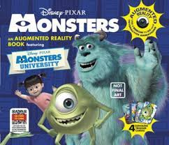 monsters augmented reality book caroline rowlands