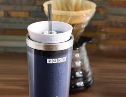 Travel Mug Zoku Iced Coffee Maker Travel Mug Gadget Flow