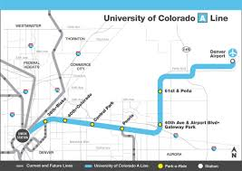 Seattle Rail Map by The Good And Bad Of Denver U0027s New Airport Transit Line City Block
