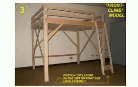 Ikea Bunk Bed Frame Dhp Twin Over Full Bunk Bed With Metal Frame And Pics On
