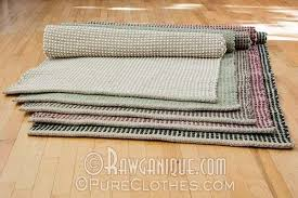 Hemp Area Rug Organic Hemp Cotton Area Rug Made In Europe Sweatshop Free