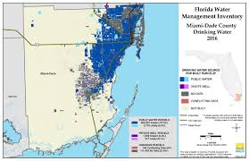 Florida Map With Counties by Miami Dade Florida Water Management Inventory Summary Florida