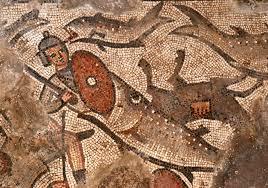 rare noah u0027s ark mosaic discovered at ancient israeli synagogue