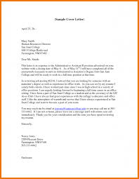 administrative assistant cover letter sample assistant cover letter