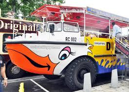 amphibious vehicle duck entree kibbles wacky duck tour singapore u0027s original ducktours