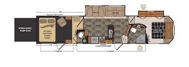 exceptional dutchmen rv floor plans part 13 fifth wheel rv