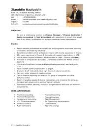 Staff Accountant Resume Examples Samples by Resume Sample For Chief Accountant Templates