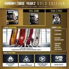 Buy Rainbow Six Siege Gold Tom Clancy S Rainbow Six Siege Year 2 Gold Edition Playstation 4